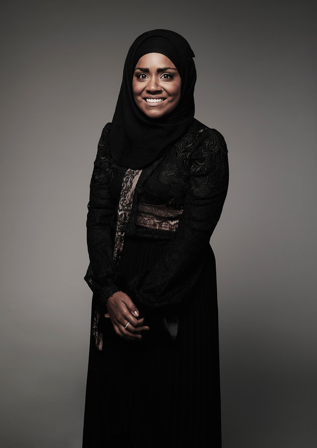 "mediumlysocial: ""A hijab-wearing Muslimah headlining a show in a primetime slot on BBC One is so so bloody awesome. Such a warm, genuine and lovely woman too. Chronicles of Nadiya is only the best comfort-viewing ever. Pumpkin cake and all. – is now..."