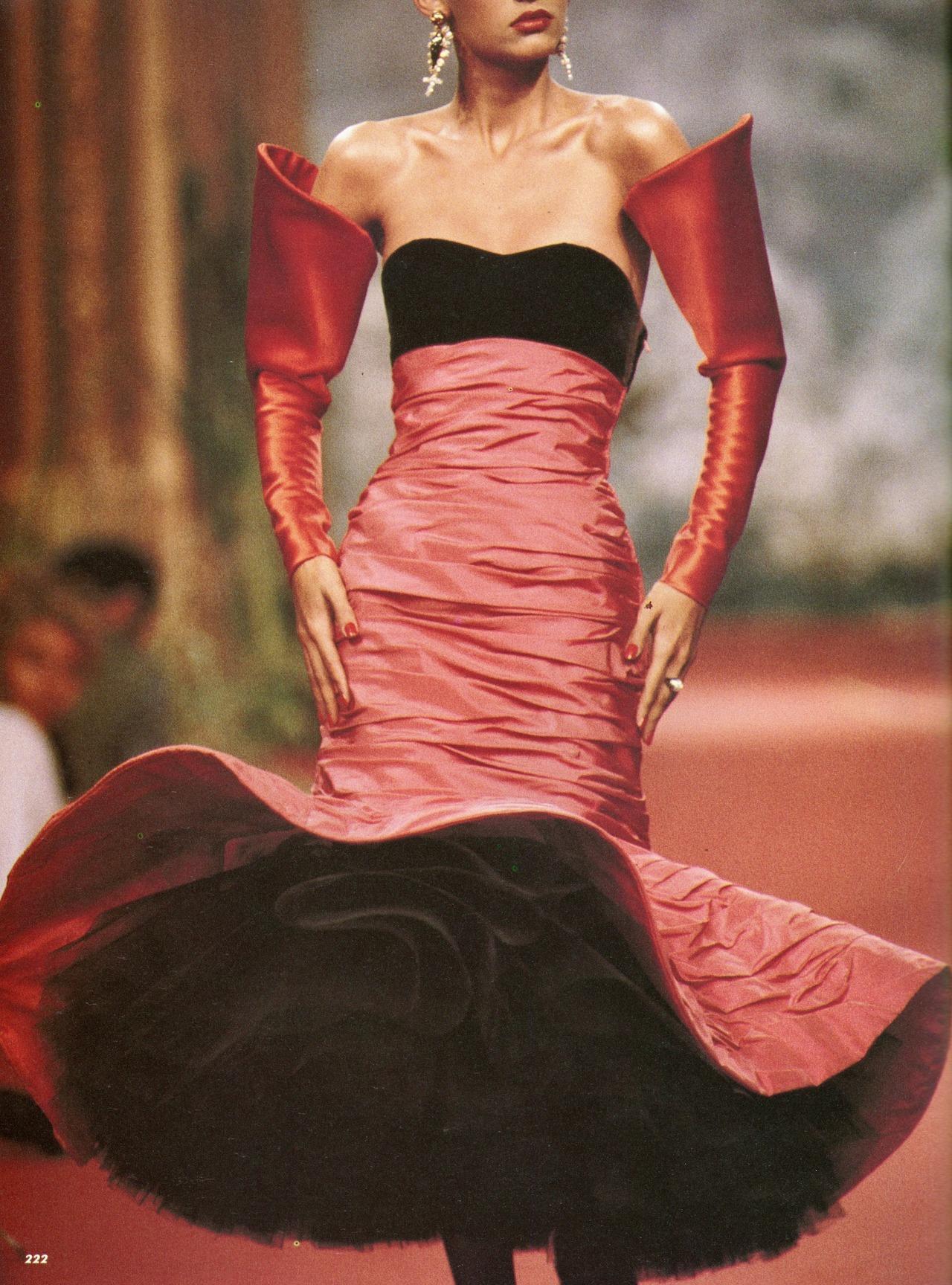 Christian Lacroix Haute Couture AW 1987 88 – Vintage Fashion