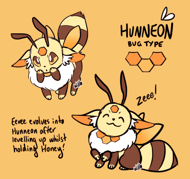 2bff22b2 Artist will_o_wisps created a new bug type eeveelution during ...