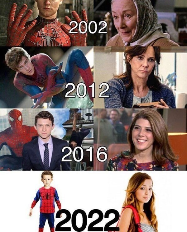 "thefingerfuckingfemalefury: "" dr-archeville: "" thefingerfuckingfemalefury: "" surprisebitch: "" madmaxriemelt: "" arsturbuther: "" No "" i'm weak. "" im screaming!! "" The Curious Case of May Parker "" It's happening in the cartoons, too: Aunt May (and Ms...."