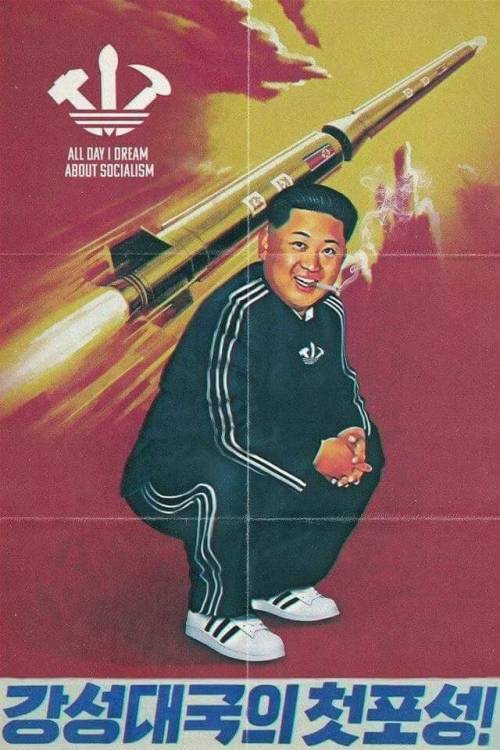 North Korea Propaganda Tumblr