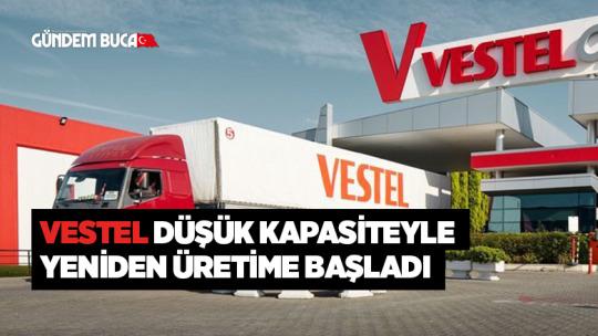 Vestel düşük kapasiteyle yeniden üretime başladı