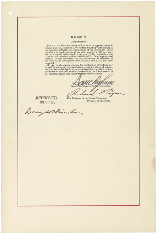 Todays Document Happy 55th Birthday NASA On July 29