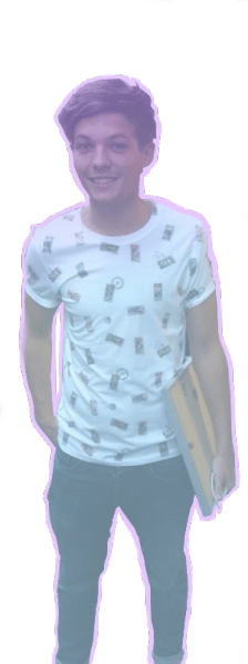 Cute Louis Png This Time With A Baby Blue Overlay And Baby Pink Border Feel Free To Use  E  A