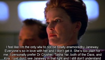 Tasha Yar And Wesley Crusher Star Trek