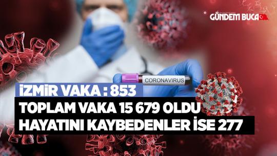 İzmir Korona Vakası 853