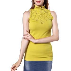 Women Turtle Neck Sleeveless Tops Mock Turtleneck Vest Polo Neck T Shirt. Soft and stretchy... , Sun, 15 Mar 2020 09:36:37 +0000