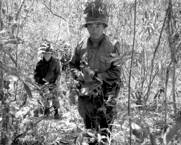韓軍在越戰的裝扮