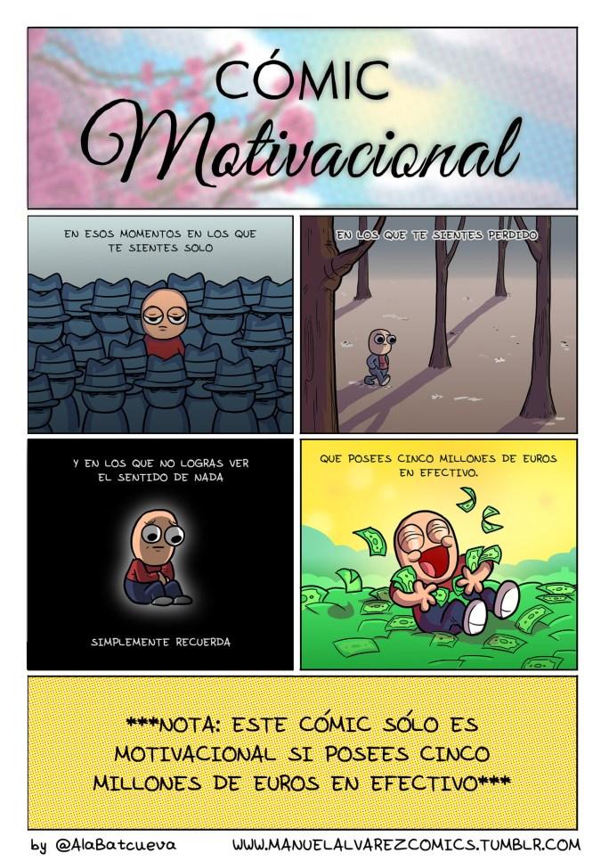Cómic motivacional