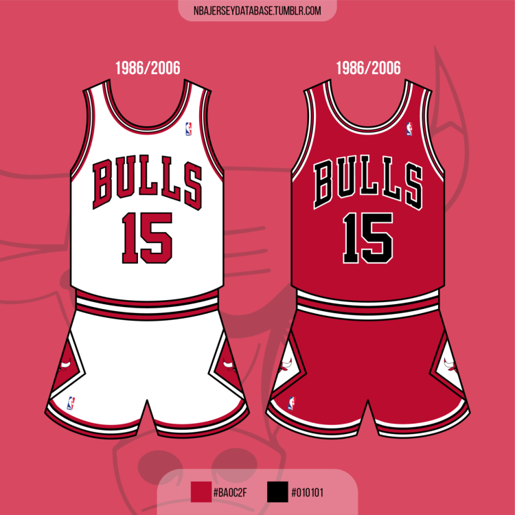 Chicago Bulls 1986-2006 Record: 889-719 (55%)