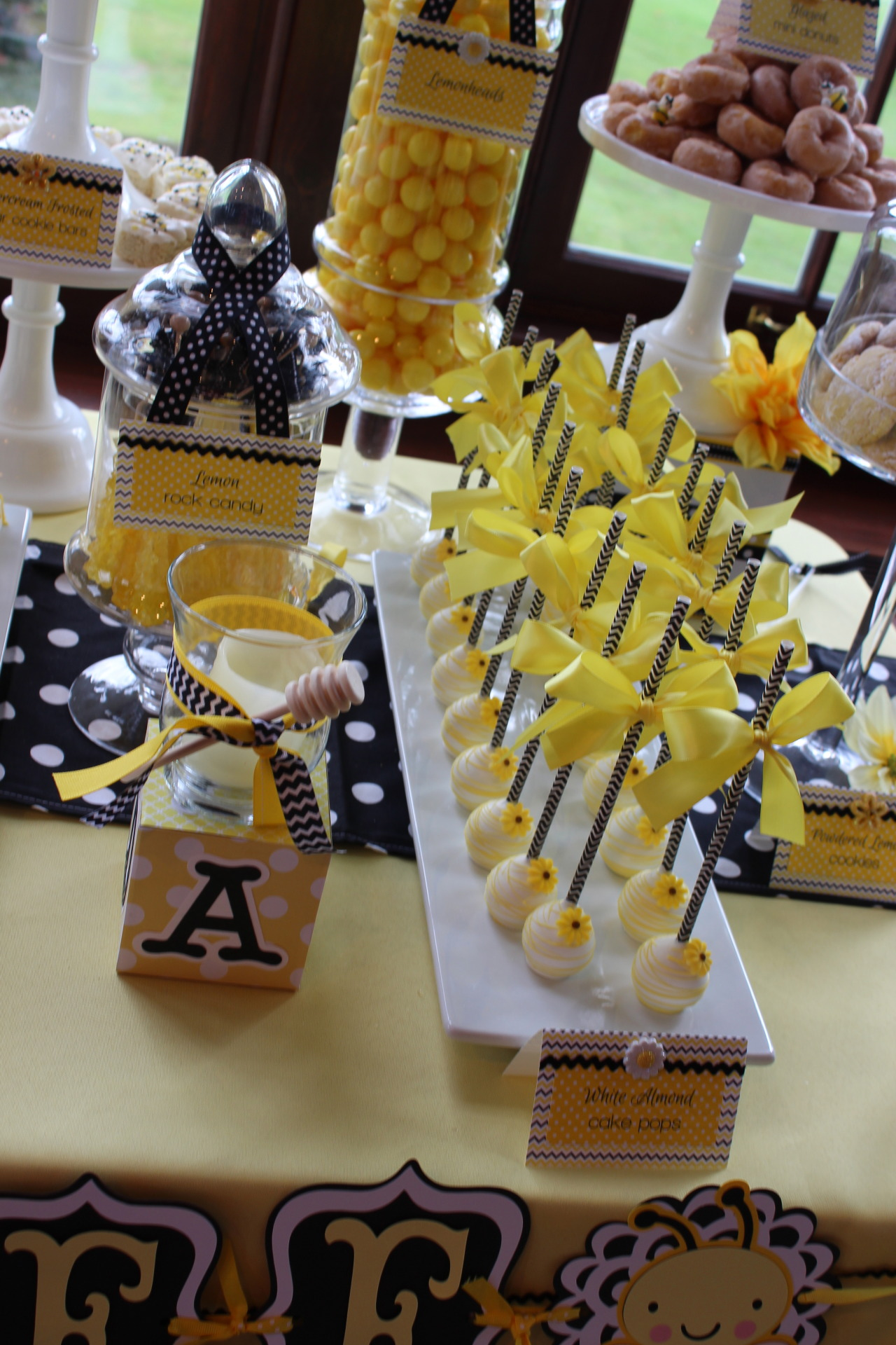 Sweet Simplicity Bakery Bumblebee Themed Baby Shower