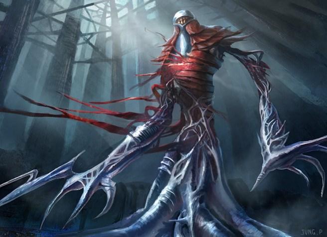 Image result for phyrexian metamorph art