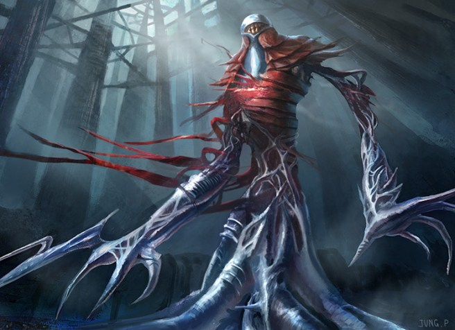 Image result for phyrexian metamorph art