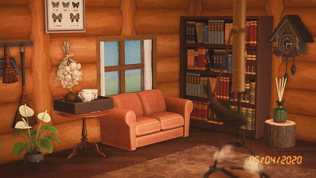 living rooms | Tumblr on Animal Crossing New Horizons Living Room Ideas  id=24357