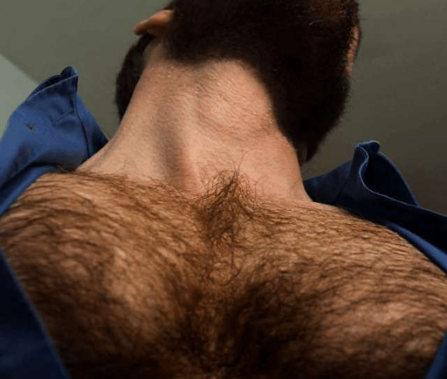 I Love Looking Up At Daddys Hairy Chest As I Suck His Cock His Body