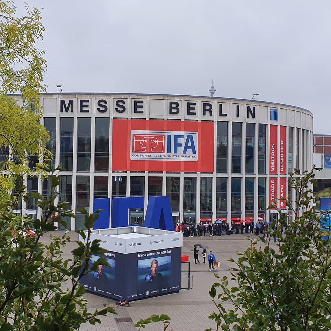 さらばIFA。また来るよ。 (Messe Berlin)https://www.instagram.com/p/B2MZFNegbWz/?igshid=168eb5sbvxe3r