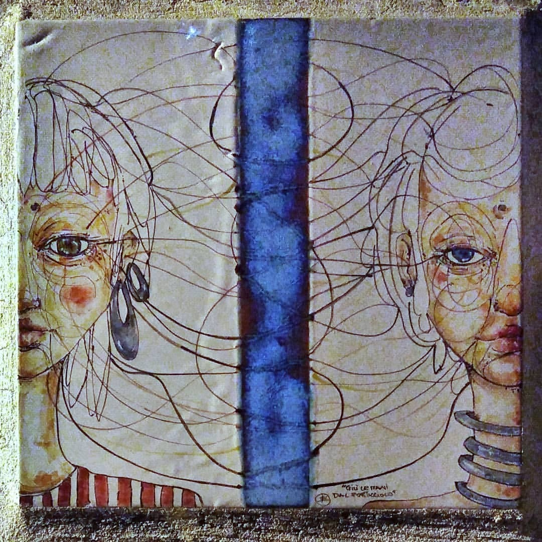 #onthesea #art #old #painting #vintage #antique #visuals #illustration #graffiti #wall #retro #culture #artistic #human...