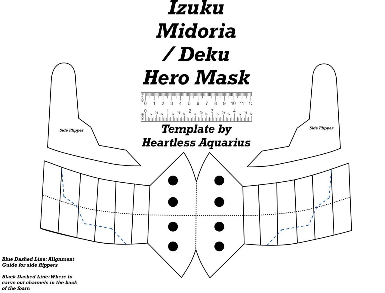 Here It Is The Pattern Of My Deku Mask Hope This