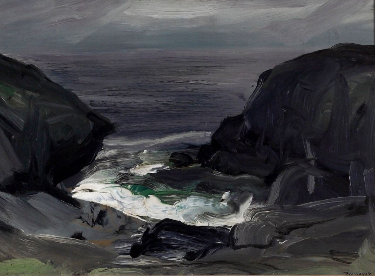 George Wesley Bellows (1882-1925) The Coming Storm, 1911 Albrecht-Kemper Museum of Art