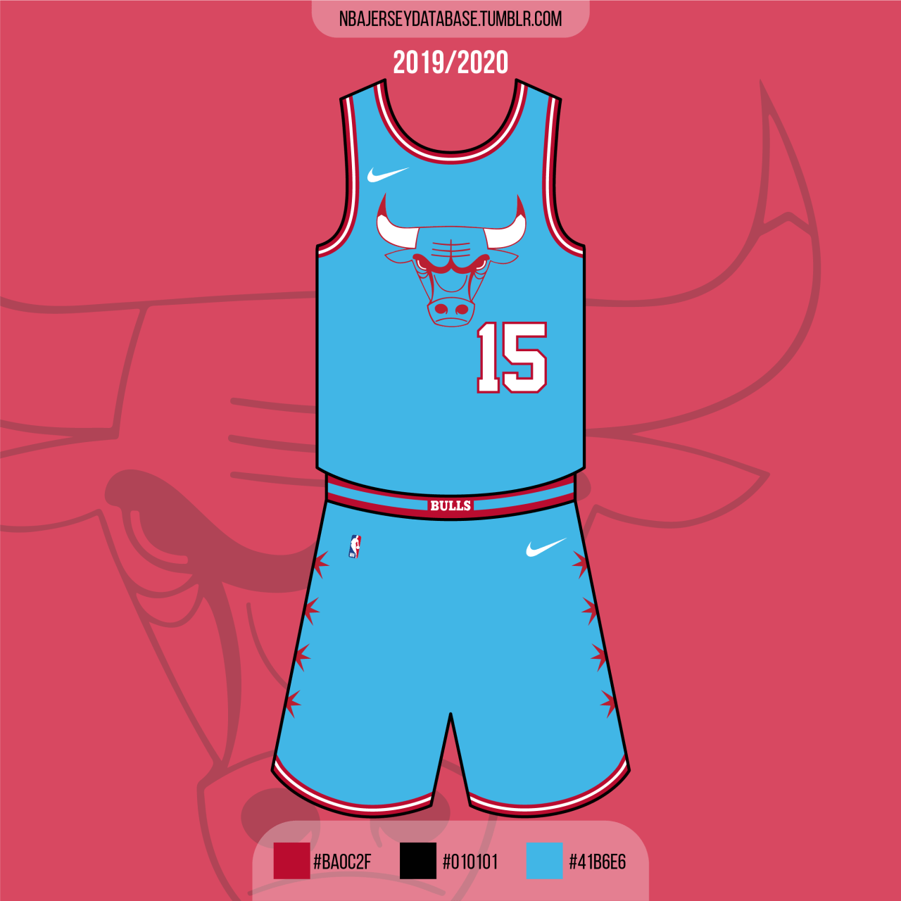 Chicago Bulls City Jersey 2019-2020