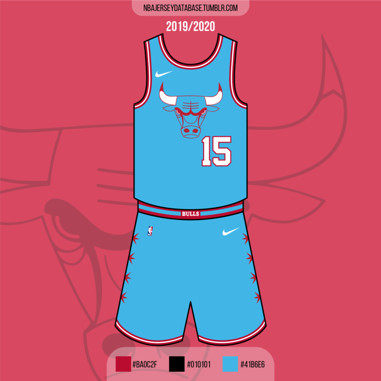 Chicago Bulls City Jersey 2019-2020