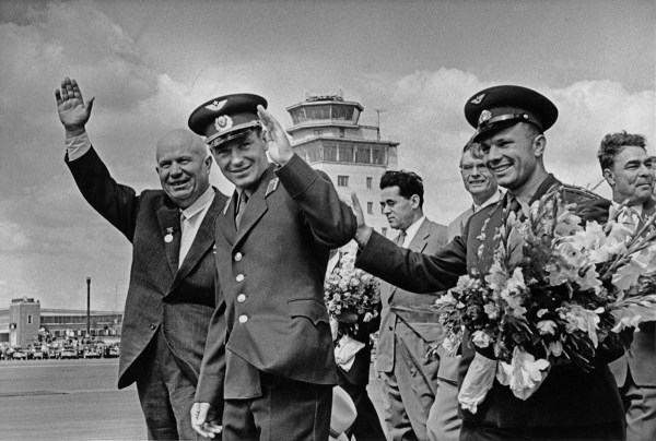 Soviet-Era Pictures — Никита Хрущев, Герман Титов, Юрий ...