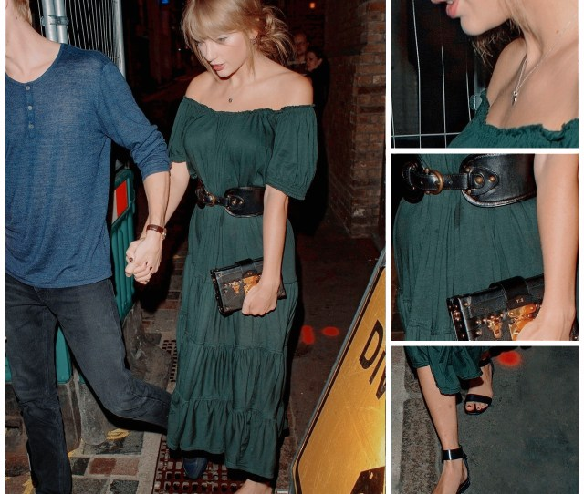 Favourite Outfits Of  Taylor Swift Style Candid August   E  A Free People Dress
