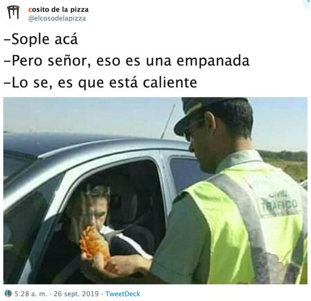 Los Guardias Civiles también comen