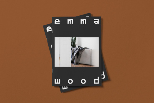 tumblr_pjcuxxaEka1r5vojso6_500 Brand Identity for Emma Wood by Gabby LordEmma Wood is a weaver,... Design