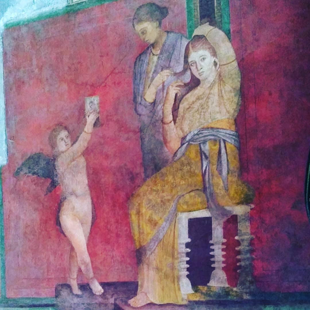 @pompeii_parco_archeologico #pompei #villadeimisteri #history #art #painting #religion #people #ancient #illustration #god...