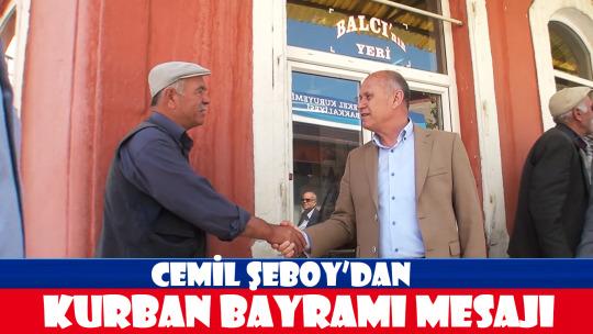 Cemil Şeboy'dan Bayram Mesajı