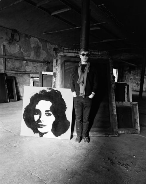 inneroptics:   Andy Warhol -At the factory-  Evelyn Hofer 1