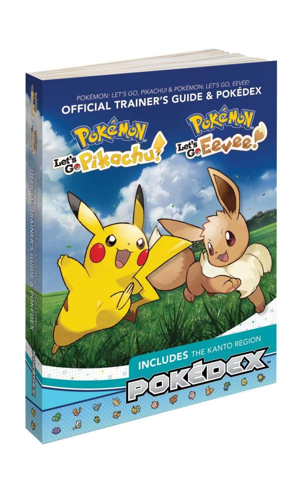 Pokemon: Let's Go, Pikachu / Eevee!: Official Trainer's
