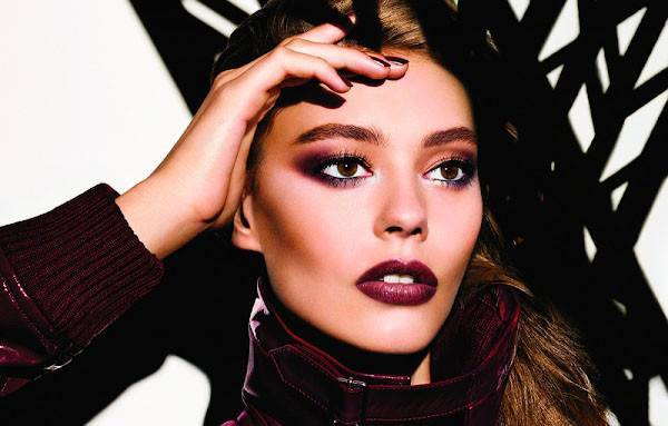 DIOR SKYLINE Fall 2016 beauty collection starring Ondria Hardin