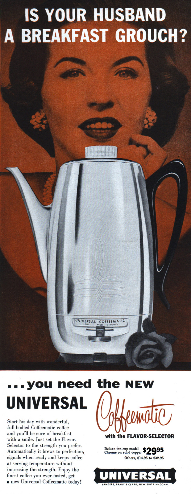 Universal Coffeematic - 1958