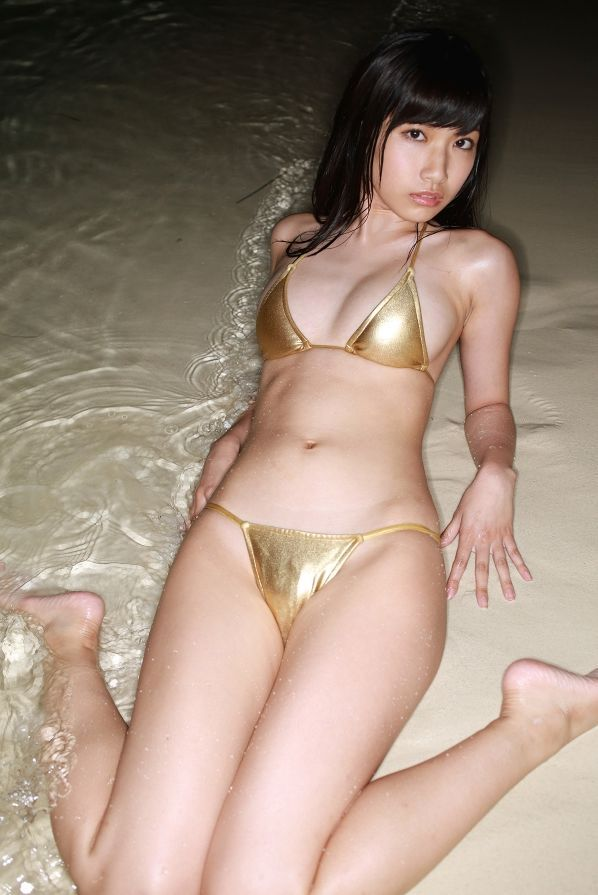 水着グラビア画像-森川彩香