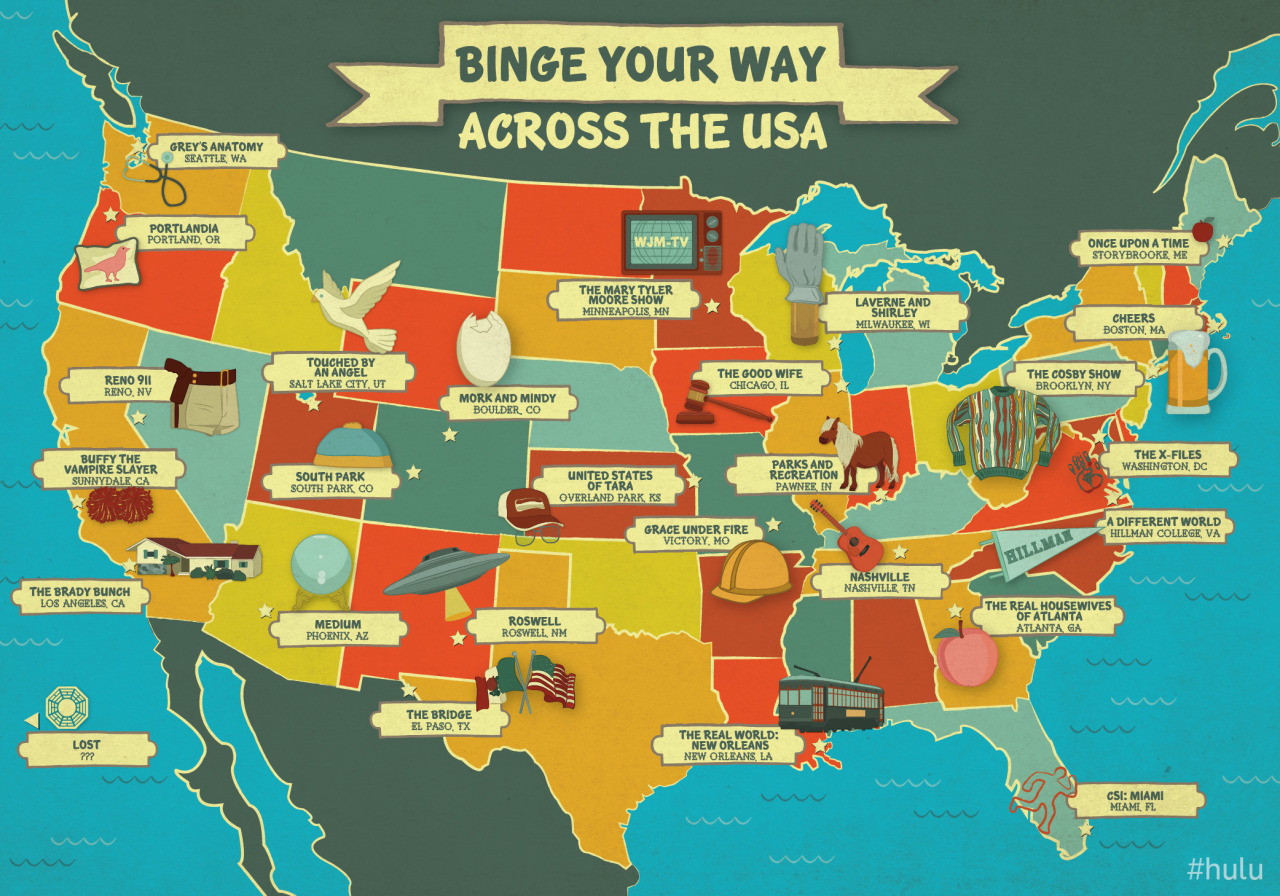 Maps Without Alaska Hulu From The Pacific Northwest To