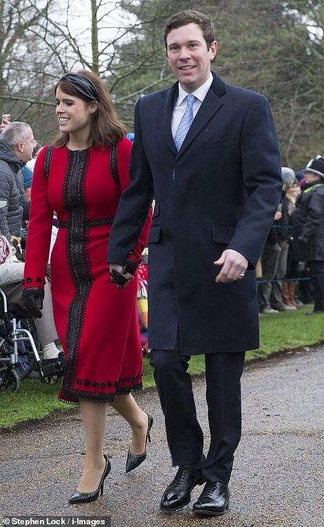Princess Eugenie and new husband Jack Brooksbank