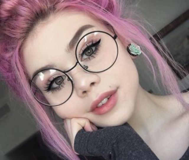 Hairbloghair Blogpink Hairrose Hairbunglassescutemanga