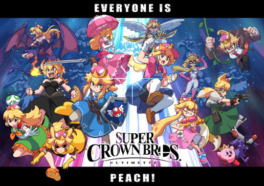 Super Crown Bros  UltimateArt by thejohnsu – Gaming