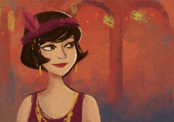 flapper-girl-trying-to-figure-out-the-style-for-a