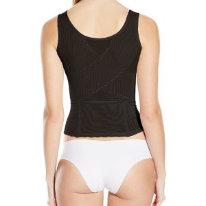 Women's Power Mesh Zip Front Cami. This is a wear your own bra power mesh cami. Zip down for..., November 15, 2019 at 07:12PM