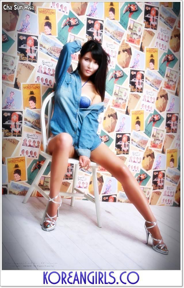 Korea Girls,Korean,Model,Dream Girls,Cha Sun Hwa
