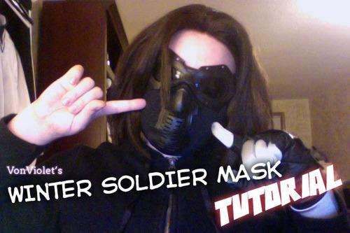 VonViolet's Winter Soldier Mask Tutorial – welterboardgame