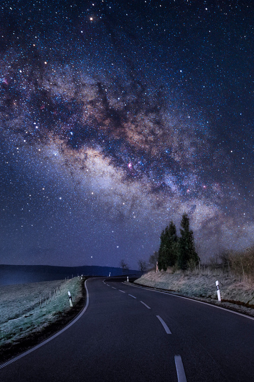 "madishy: ""Galactic Road by Johannes Nollmeyer """