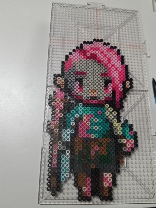 Guardian Zelda Pixel Art