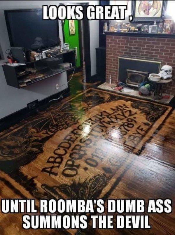 Mola bastante.Hasta que el puto Roomba te invoca al demonio.