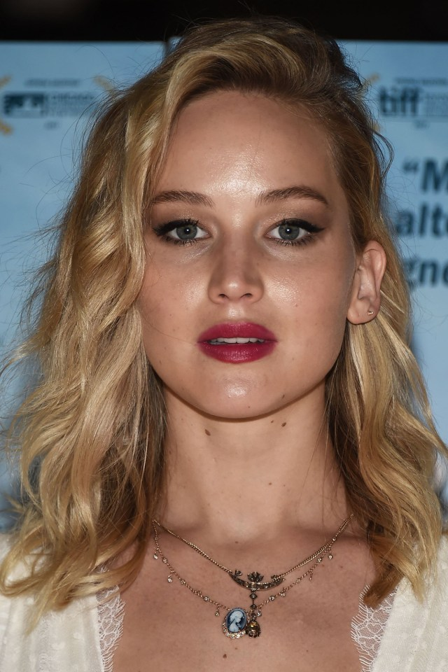 jennifer lawrence, before and after - the skincare edit