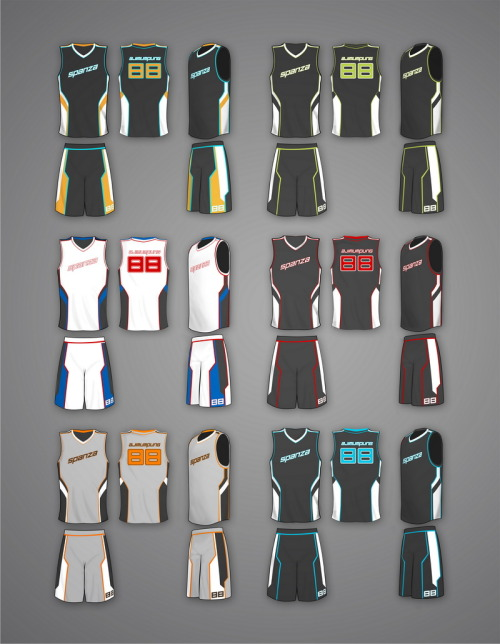Download Le M X III • Basketball Jersey - Mockup. Sample of my ...