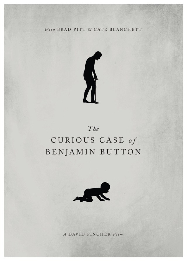 Day 261: The Curious Case Of Benjamin Button. #amovieposteraday